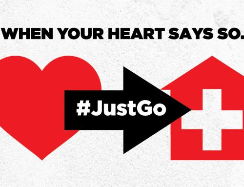 #JustGo – If your heart says so.