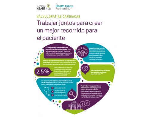 Heart Valve Disease Report Summary – Spanish
